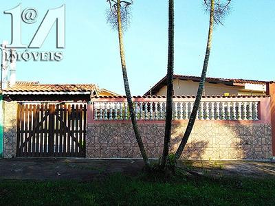Casa Lote Inteiro, 1 Dormitório, Próxima A Praia, Itanhaem.