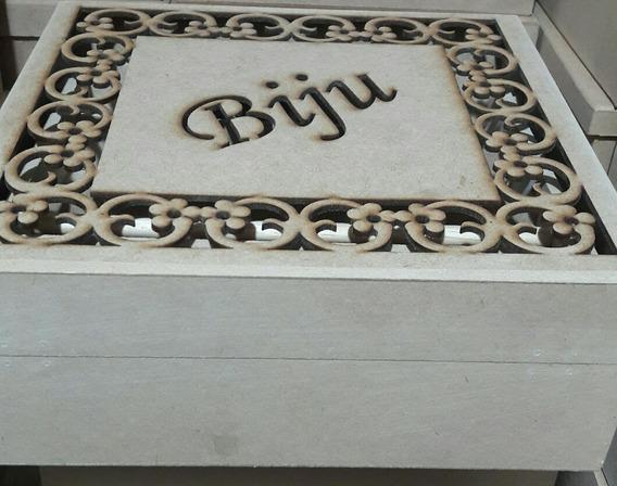 Porta Biju Em Mdf Cru