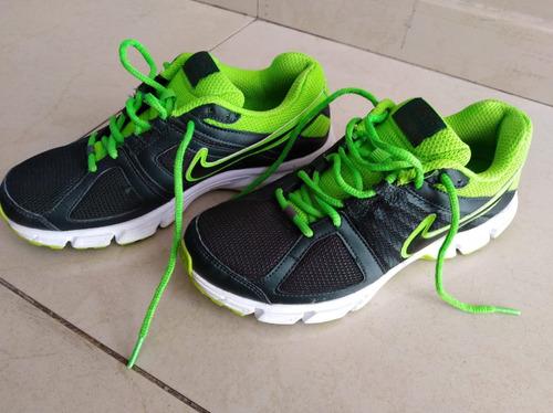 Correo Escepticismo beneficioso  Zapatillas Running Nike Downshifter 5 Verde Y Gris Impecable | Mercado Libre