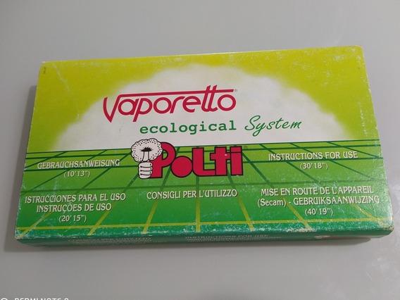 Fita Antiga Vhs Vaporetto Ecological System Polti - Raro