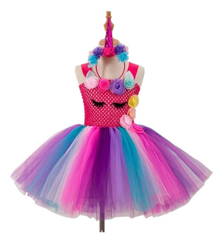 Fantasia Infantil Unicornio Feminina Roupa Unicornio Femin Mercado Livre