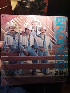 Bronco Un Golpe Mas Lp Vinyl Edición Promocional