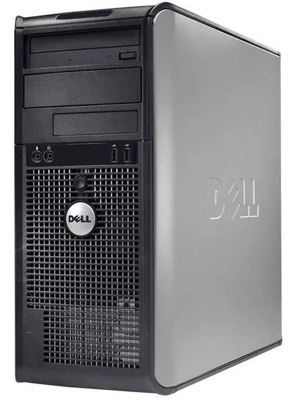 Cpu Dell Core 2 Duo 4gb Hd 2 Hds 2 Tb + Monitor 17 Dell