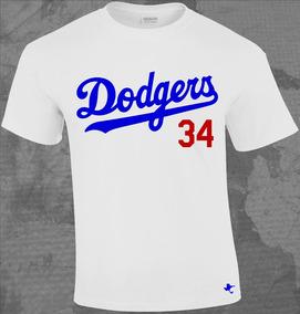 Playera Mlb Dodgers De Los Angeles 1 By Tigre Texano Designs