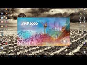 Sap2000 20.1 - 2017 + Curso Em Portugues