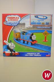 Thomas & Friends Ferrovia Um Dia Com Thomas - Bgl96 - Mattel