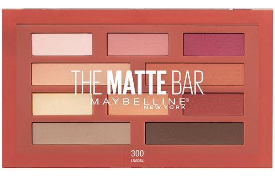 Paleta De Sombras Matte Bar Maybelline