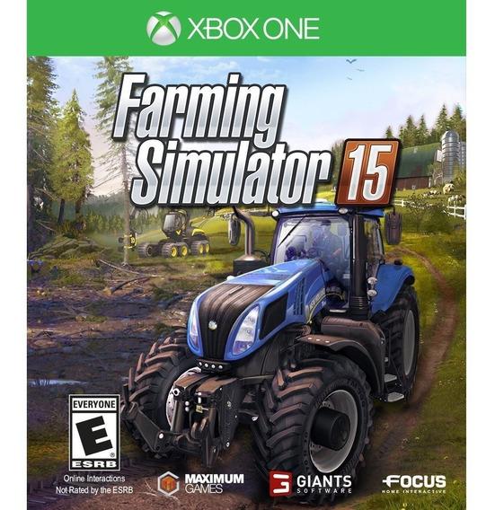 Farming Simulator 15 Xbox One Mídia Física Lacrado Original