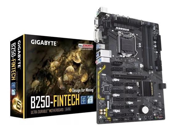 Placa Mãe Gigabyte B250 Atx (1151) Ddr4 - Ga-b250-fintech