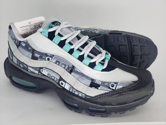 Tênis Nike Air Max 95 Casual ( Grátis Par De Meias)