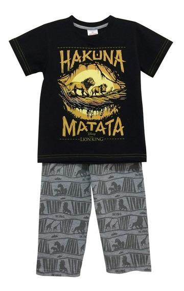 Hakuna Matata Pijama Rey Leon Niños