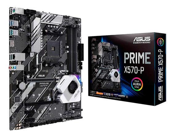 Motherboard Asus Prime X570-p Am4 Ddr4 Usb 3.0 Hdmi Mexx 3