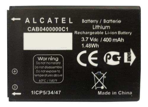 Imagen 1 de 10 de Bateria Alcatel Original 4.6cm Cab0400000c1 400mah (2015)