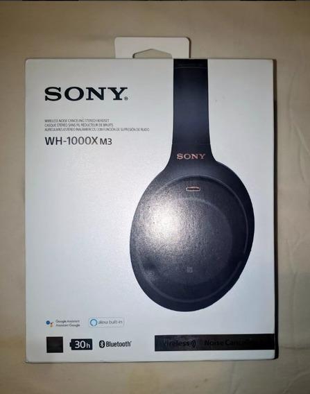 Sony Wh-1000xm3 Headphone - Novo: Promoção Black Friday