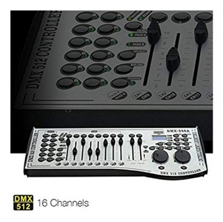 Consola Dmx 512 Led Iluminación De Escenario 16 Canales