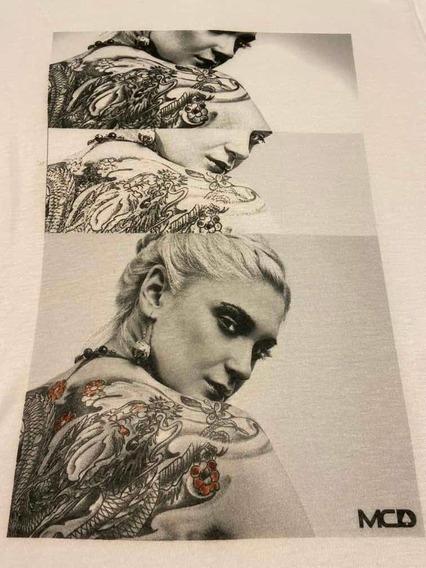 Camiseta Mcd Tattoo Original G Lost Volcom Tatuagem Rvca