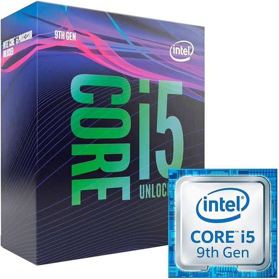 Processador Intel Core I5-9600k 9mb 3.7 - 4.6ghz 9th Gen