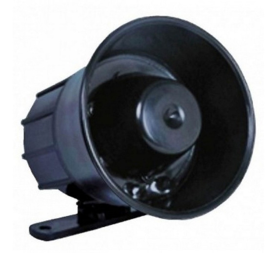 Mini Sirene Corneta Tweeter 115db - Dni3030