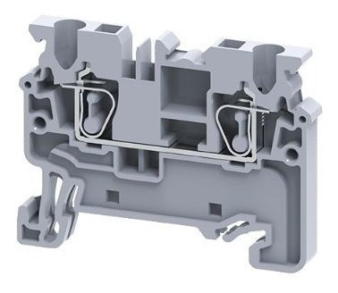 Borne Conector De Passagem 2.5mm Mola 100pçs