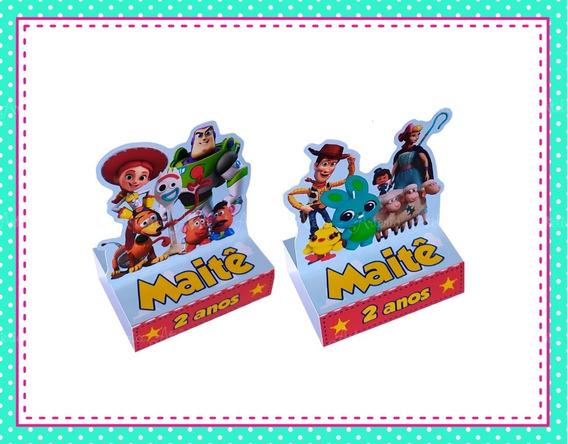 20 Caixa Porta Bis Tag Aplique Lembrancinha Toy Story Store