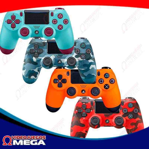 Control Ps4 - Playstation 4 Red Camo
