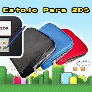 Nintendo 2ds Estojo Protetor Case Compartimentos 3ds