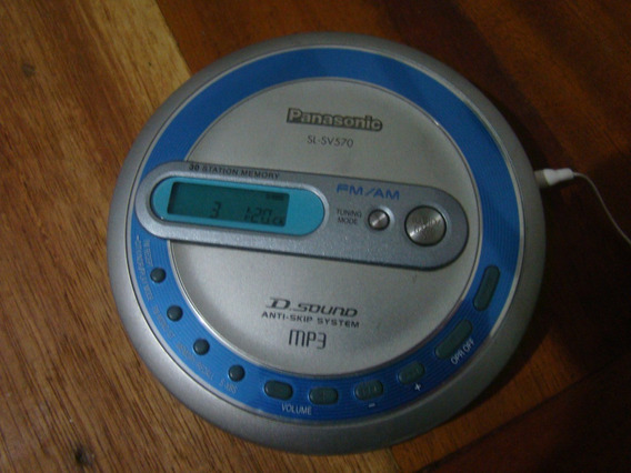 Discman Panasonic Sl Sv570 , Ler Descrição