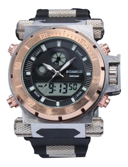 Relógio Masculino De Pulso Boamigo - Jqxxgywwf