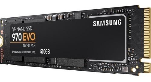 Ssd M2 Samsung 970 Evo 500gb M.2 Nvme 3400mbps Nota Fiscal