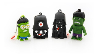 Pendrive Starwars Minions 8 Gb
