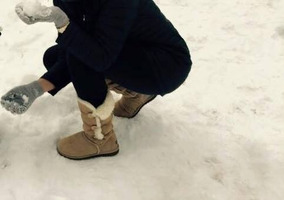 Bota Feminina Pele Ovina Illi Boots - 1006