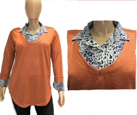Camisa Viyela Superpuesta , Sweater Lanillat2,4 ,6,8,10