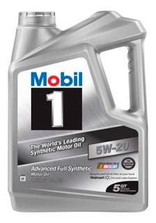 Aceite De Motor Mobil 1 5w20 Sintetico 5 Litros Repuestodo