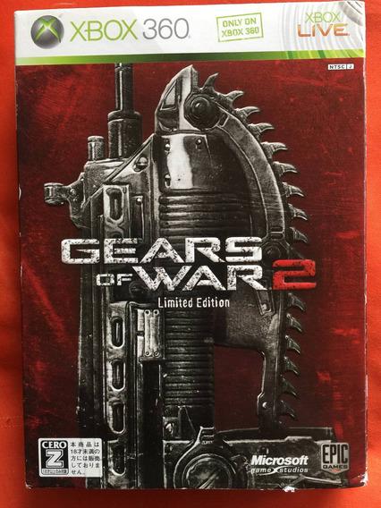 Gears Of War 2 Edição Limitada Steel Case Original Japones!