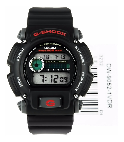 Relogio Masculino Casio G-shock Dw9052-1v Original
