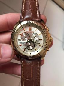 Relógio Citizen Cronógrafo Md An7102-54p Masculino Dourado