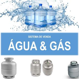 Sistema De Venda Distribuidora Água Mineral E Gás Planilha