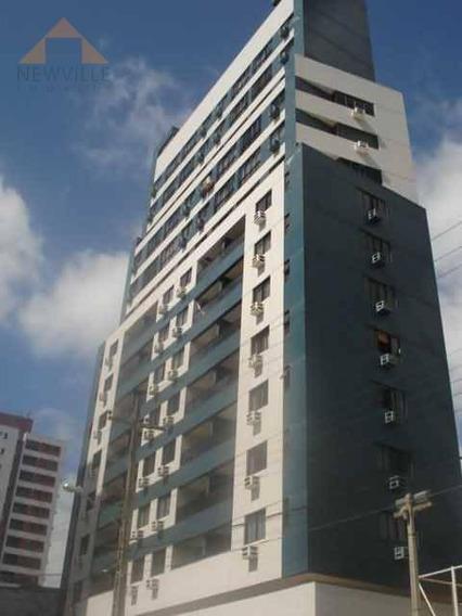 Apartamento Com 1 Quarto Para Alugar, 50 M² Por R$ 1.800/mês - Boa Viagem - Recife/pe - Ap2271