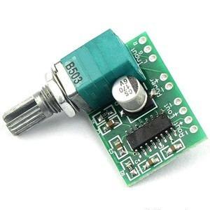 Amplificador Digital Com Potenciômetro 6w Rms ( Frete Fixo )