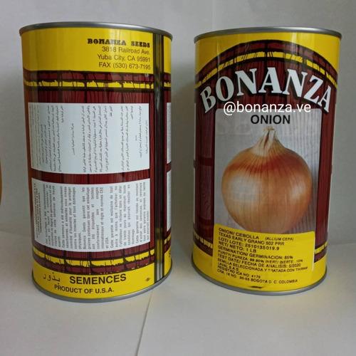 Semillas De Cebolla Lata 452 Gramos Bonanza