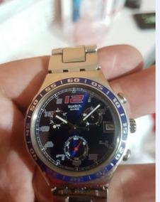 Relógio Swatch Irony Ycs517g Spymaker Blue