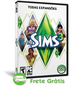 The Sims 3 Pc Todas Expansões Português 2018 - Mídia Física