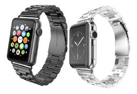 Pulseira Em Aço Inox Para Apple Watch 1 2 3 40mm 44mm