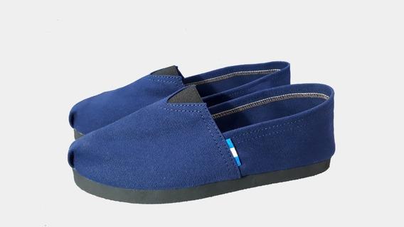 Alpargatas De Calidad - Balwash Arg. Color Azul. Del 34al47