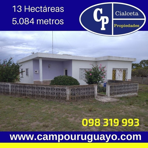 Linda Chacra Con Casa A 40 Km De Montevideo