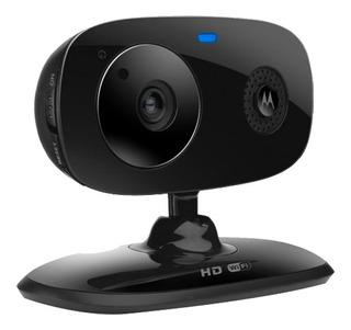 Cámara De Vigilancia Doméstica Wifi Hd Motorola Focus66-blk2