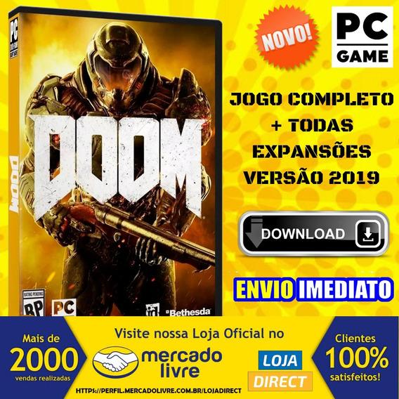 Doom (4) - Pc - Português-br - Envio Digital
