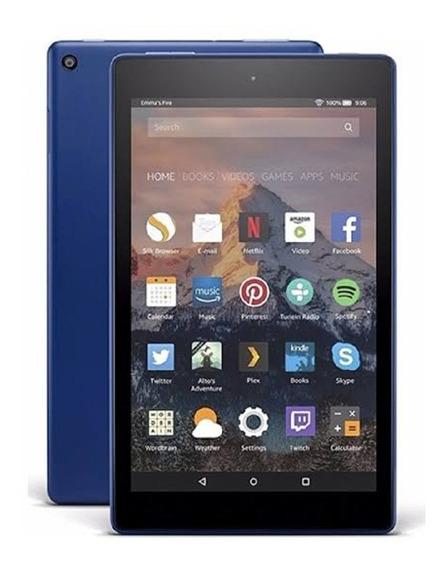 Tablet Amazon Fire Hd8 16gb 8 Preto 8 Geração Para Jogos