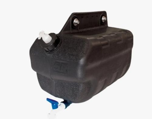 Tanque De Agua 25lts Camion Negro M/nuevo (c/jabonera)