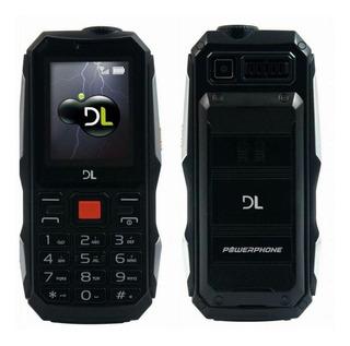 Celular Dl Power Phone Pw020 Câmera Lanterna Bluetooth